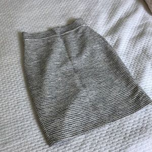 Summer tweed pencil skirt from Banana Republic